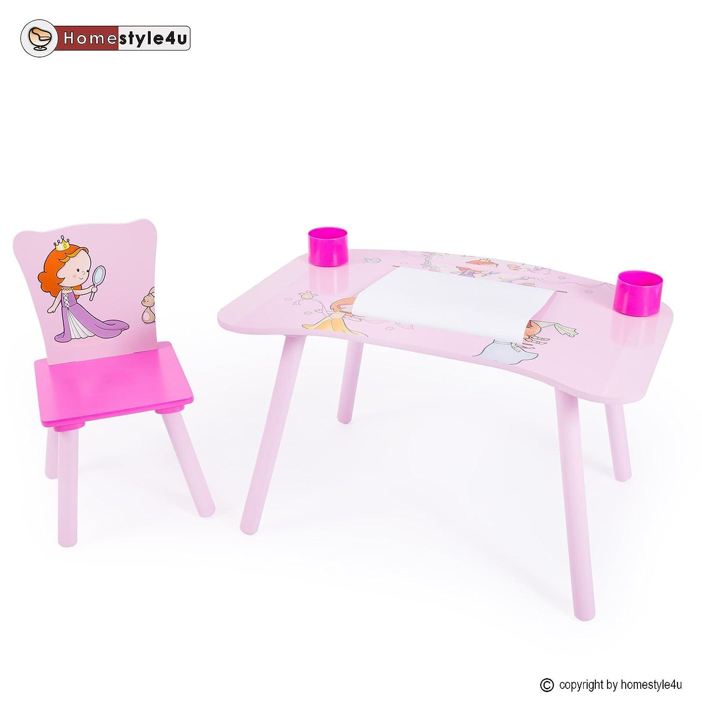 Homestyle4u Kindermaltisch Zeichentisch Kinder Tisch Stuhl Spieltisch Kindertisch Maltisch günstig kaufen