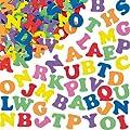 Pot de 1 100 Lettres de l'Alphabet Autocollantes en Mousse de couleurs diff�rentes - Apprendre en s'amusant, amusez vous � ecrire votre nom ou des petites phrases sur toutes vos d�corations