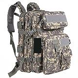 Uniseason BBQ1659 Military Tactical Molle Backpack Sport Outdoor versatile Rucksacks Camping Hiking Traveling Bag