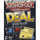 Parker Brothers Monopoly Millionaire Deal Card Game