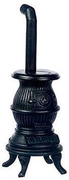 Meubles Maison Poupées Miniature Pot À Ventre Salon Poêle À Bois