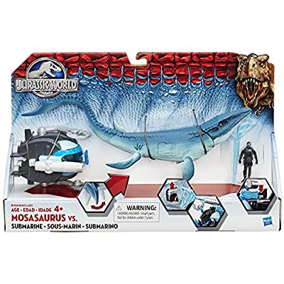 Jurassic World Mosasaurus vs. Submarine Pack from Hasbro