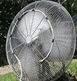 "7 Nozzle Fan Mister for 36"" Fan Outdoor cooling"