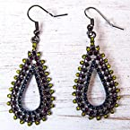 Teardrop Stones Earrings