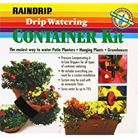 Raindrip Container Drip Watering Kit R552DT