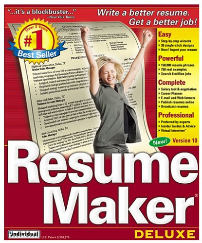 Resume Maker Professional 16 - Deluxe