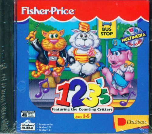 Fisher Price 123'S: Featuring The Counting Critters front-206269
