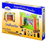 Magnetic Pretend Play Theater Snow Wh...