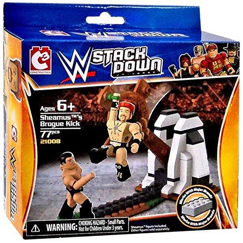 Sheamus's Brogue Kick WWE Stack Down 77 Piece Set