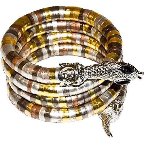 Egyptian Cobra Coil Bracelet