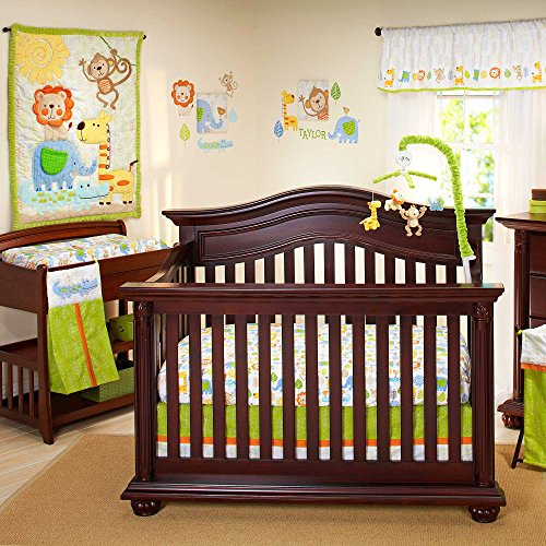 Congo Bongo 4 Piece Baby Crib Bedding Set By Nojo