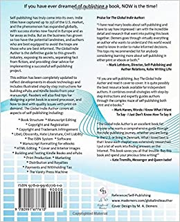 The Global Indie Author: Your Guide to the World of Self-PublishingPaperback–