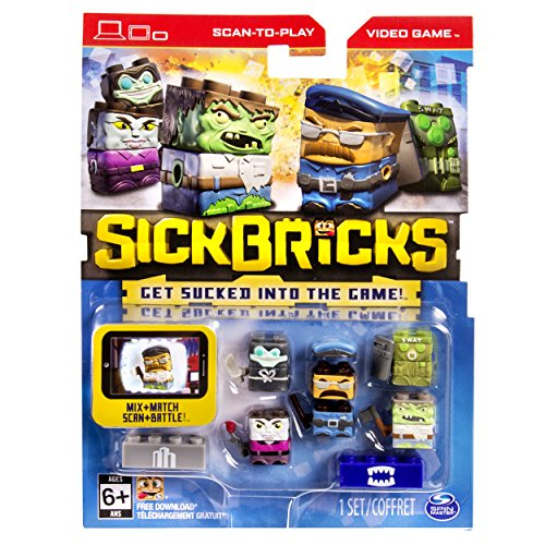 Sick Bricks - Sick Team - 5 Character Pack - City vs Monster