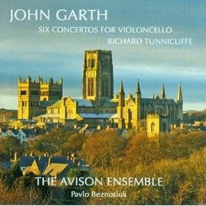 Garth: Six Concertos for Violoncello /Tunnicliffe · The Avison Ensemble · Beznosiuk