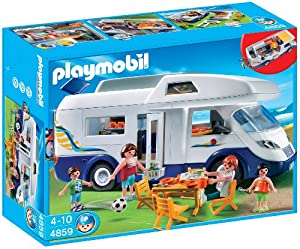Playmobil Summer Fun 4859 Family Camper