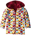 Zutano Baby-Girls Infant Zig Zag Reversible Zip Hooded Sweatshirt