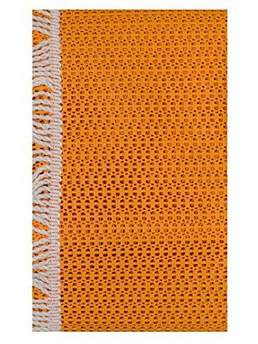 Style My Garden 04045 Rustikale Gartentischdecke Terracotta Rechteckig 160x130cm (FP31)