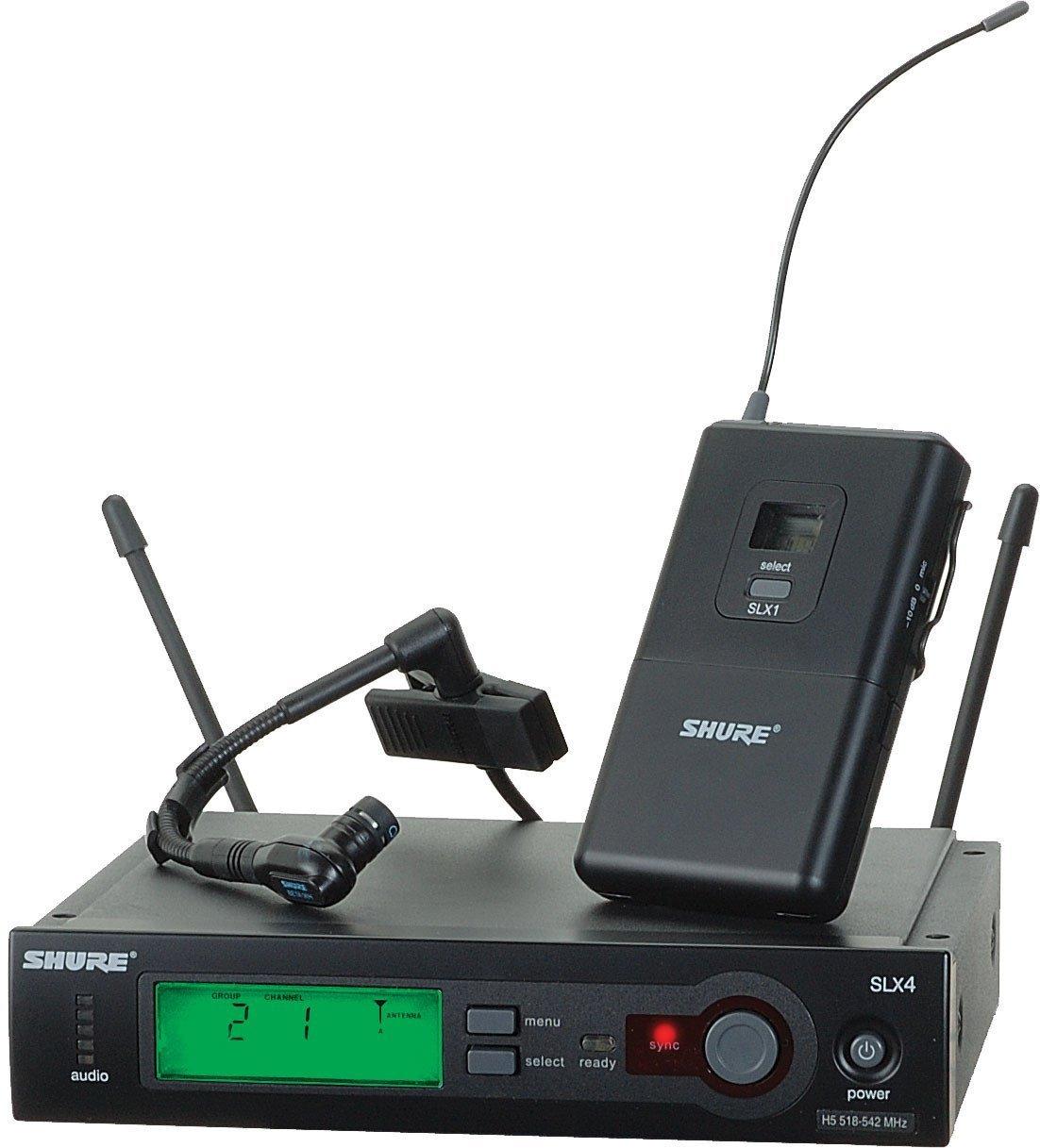 все цены на  Shure SLX14/Beta98H Instrument Wireless System  онлайн