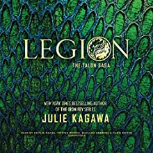 Legion Audiobook by Julie Kagawa Narrated by Caitlin Davies, Tristan Morris, MacLeod Andrews, Chris Patton