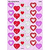 Shimmering Hearts Sparkle Stickers®