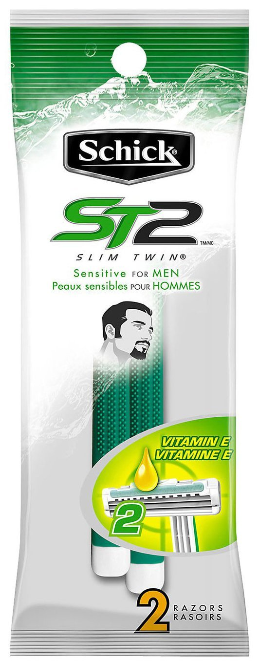 Schick Slim Twin Sensitive for Men 36/2ct