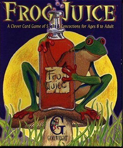 Frog Juice Card Game - Includes Bonus Pop Toob! (Frog Juice Game compare prices)