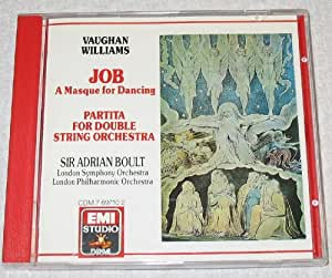 Vaughan Williams: Job, Partita for Double String Orchestra (Boult)