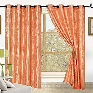 elegant comfort satin panel with 8 grommet one window curtain panel 52 inch. Black Bedroom Furniture Sets. Home Design Ideas