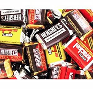 Hershey's Assorted Miniature Candy Bars 1LB Bag