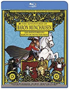 The Adventures of Baron Munchausen (30th Anniversary Edition) [Blu-ray] (Bilingual)