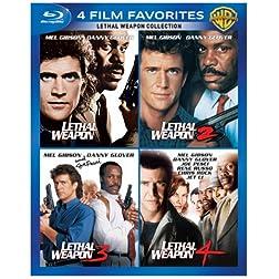 4 Film Favorites: Lethal Weapon [Blu-ray]