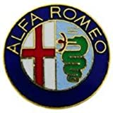 Alfa Romeo 1 Inch Logo Pin