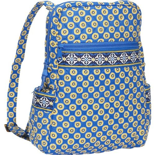 Vera Bradley Backpack Riviera Blue