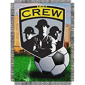 Columbus Crew MLS Woven Tapestry Throw Blanket (48x60) by Northwest