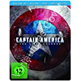 Captain America - The First Avenger (+ Blu-ray + DVD + Digital Copy) (Steelbook, exklusiv bei Amazon.de) [Blu-ray 3D]