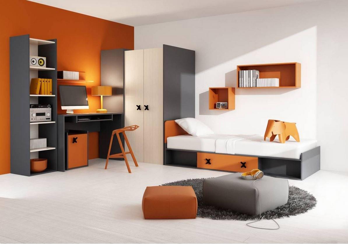 kinderzimmer komplett komplettset mit kleiderschrank babybett und jugendbett lattenrost und. Black Bedroom Furniture Sets. Home Design Ideas