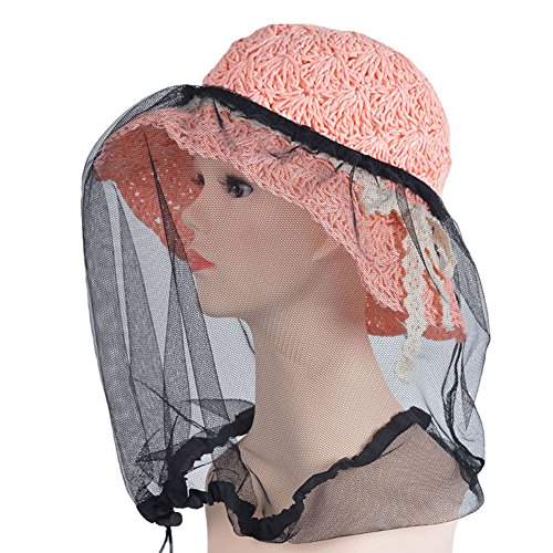 elastic-insectes-head-net-mesh-masque-anti-mosquito-bug-bee-noir