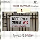 Beethoven: Complete Works for Solo Piano Vol 1 - Sonatas Op 13 Path�tique, Op 14 Nos 1 & 2, Op 22 /Brautigam