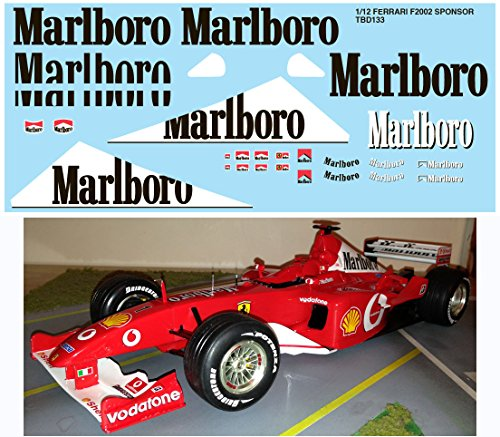 112-FERRARI-F2002-F1-SPONSOR-FOR-REVELL-KIT-DECALS-TB-DECAL-TBD133