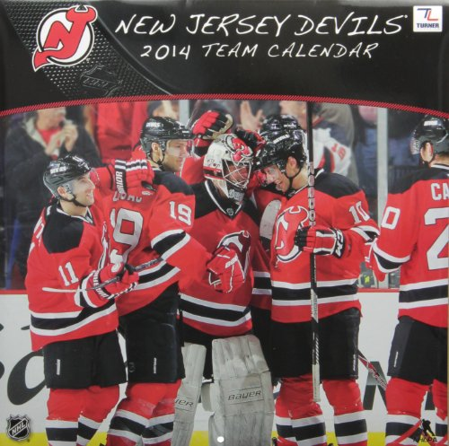 New Jersey Devils Team 2014 Calendar