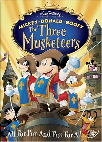 Cover art for  The Three Musketeers