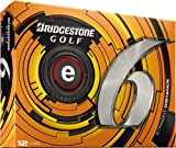 Bridgestone Golf 2013 e6 Golf Balls (Pack of 12), White