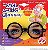 Wide Awake Glasses Hen & Stag Party Novelty Glasses Specs & Shades for Fancy Dress Costumes  Accessory