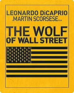 The Wolf of Wall Street - Limited Edition Steelbook [Blu-ray] [2013] [Region Free]