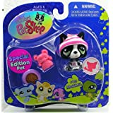 Littlest Pet Shop Assortment 'A' Series 4 Collectible Figure Bulldog (Special Edition Pet!)