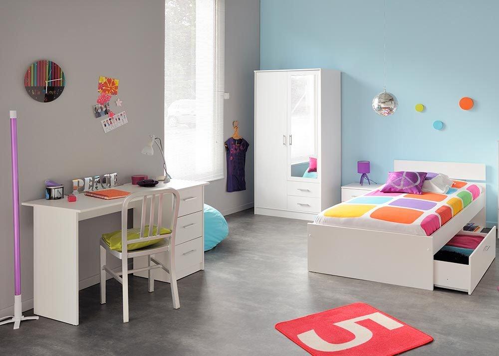Jumbo-Möbel Kinderzimmer-Set INFINITY in Weiß 4 tlg. günstig kaufen