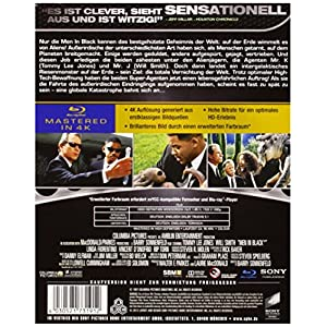 Men in Black-4k Mastered [Blu-ray] [Import allemand]