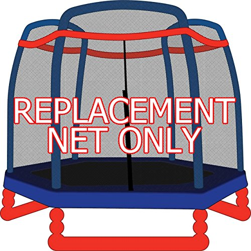 7ft-Replacement-Trampoline-Safety-Net-for-3-Arch-Enclosures-Fits-Little-Tikes-SkyBound