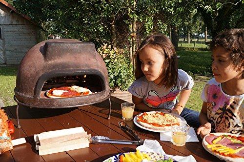 pizzaofen premium toskana von sol y yo steinbackofen aus terrakotta 52 cm unvergesslicher. Black Bedroom Furniture Sets. Home Design Ideas