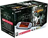 echange, troc Console PSP 3004 silver + Monster Hunter + Housse + Stickers + Chiffonette